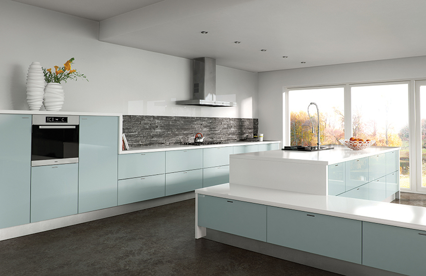 High gloss kitchen doors Bristol